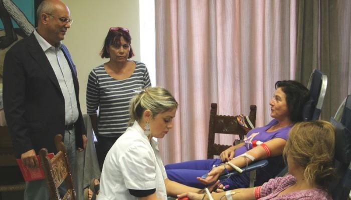 Ικανοποιητική η συμμετοχή στην εθελοντική αιμοδοσία στο Δημαρχείο Χανίων