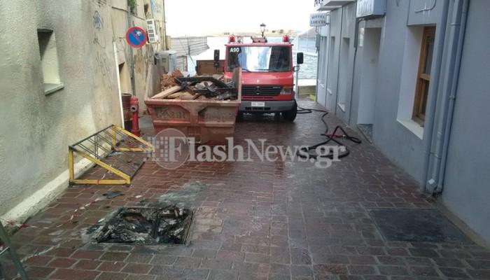 Αναστάτωση στην Παλιά Πόλη των Χανίων από βλάβη σε υποσταθμό της ΔΕΗ