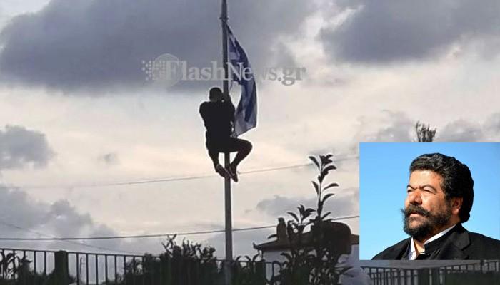 Ο παπα-Ανδρέας για την αποβολή του μαθητή που σήκωσε την ελληνική σημαία