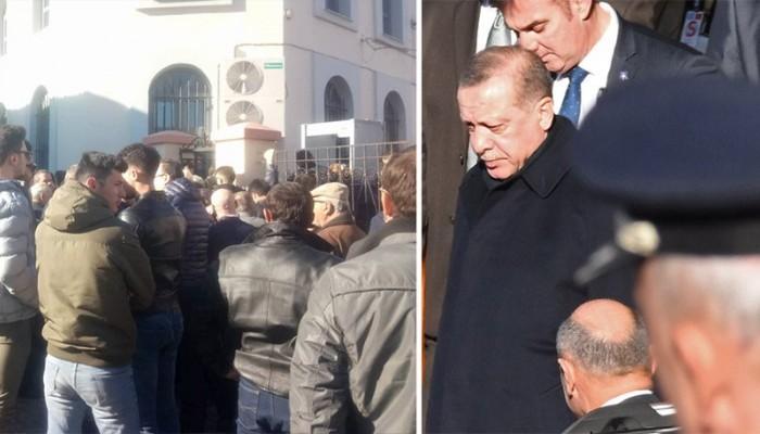 Ο Ερντογάν στη Θράκη: «Ηγέτη μας» του φώναζε το πλήθος όταν μπήκε στο τζαμί