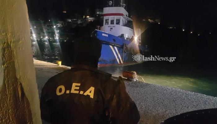 Κρήτη: Θρίλερ στο πλοίο που είχε εντοπιστεί με 6 τόνους