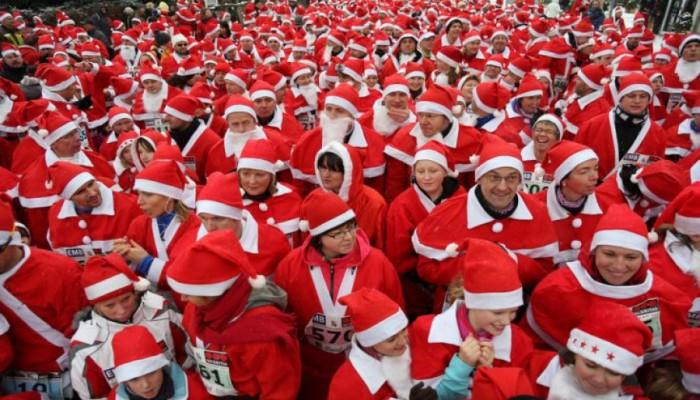 Την Παρασκευή το Santa Run στο Ηράκλειο
