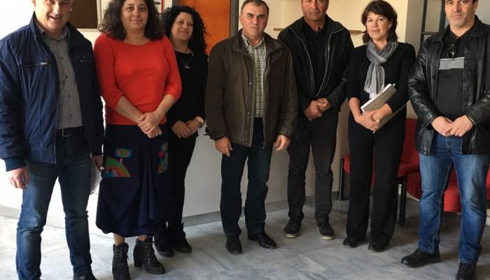 Συνάντηση Δημάρχου Ιεράπετρας με τους Συμβασιούχους Κοινωφελούς Εργασίας