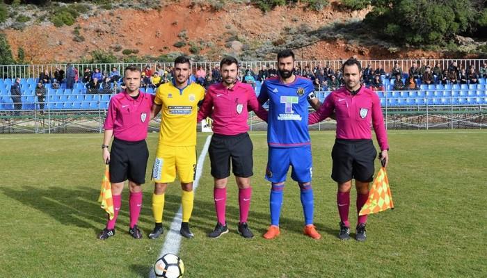 Ο Ερμής Ζωνιανών 1-0 την Παλαιόχωρα