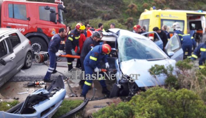Πολύνεκρο τροχαίο δυστύχημα στον ΒΟΑΚ