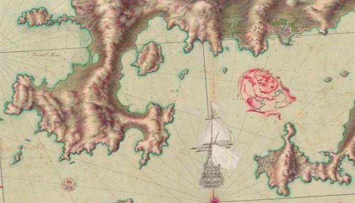 Χάρτες 333 ετών του Λουδοβίκου ΙΔ' για το Αιγαίο