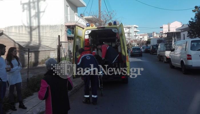 Τροχαίο ατύχημα με έναν τραυματία στο κέντρο των Χανίων (φωτο)