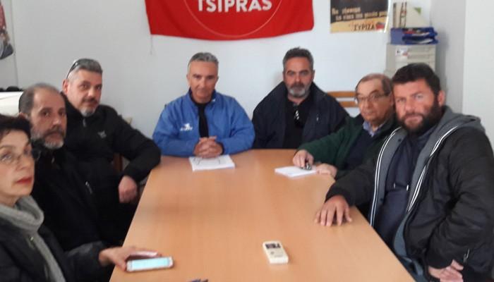 Συνάντηση συμβασιούχων Πυροσβεστών με τους Βουλευτές Χανίων