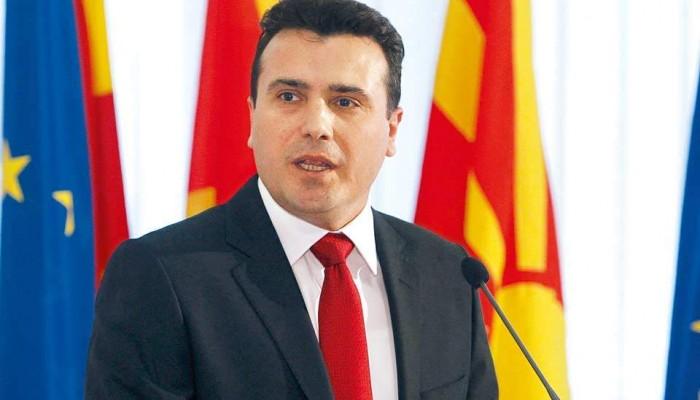 Ο Ζόραν Ζάεφ προτείνει τέσσερα πιθανά ονόματα για την ΠΓΔΜ