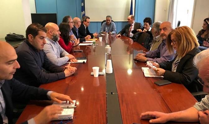 Συνάντηση Δήμαρχων Χανίων με υπουργούς για τη διαχείριση απορριμμάτων