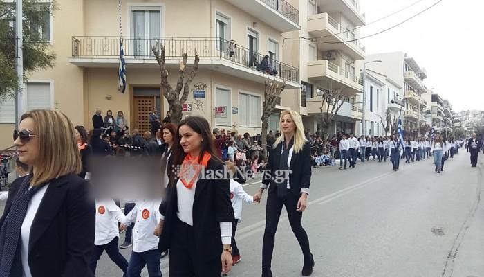 Οι παρουσίες που... έκλεψαν τα βλέμματα στην παρέλαση στα Χανιά
