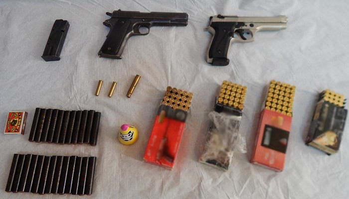 Συνελήφθη 28χρονος με όπλα και σφαίρες (φωτο)