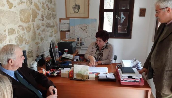 Στην Υπηρεσία Πρασίνου και τη ΔΕΥΑΗ ο Δήμαρχος Ηρακλείου