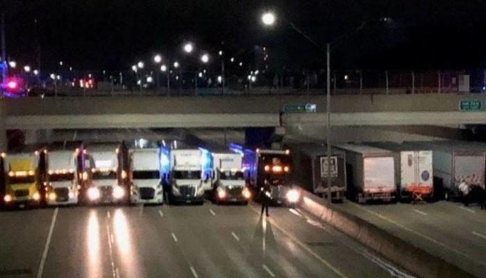 Συγκλονιστική κίνηση φορτηγατζήδων να σώσουν άνδρα από την αυτοκτονία