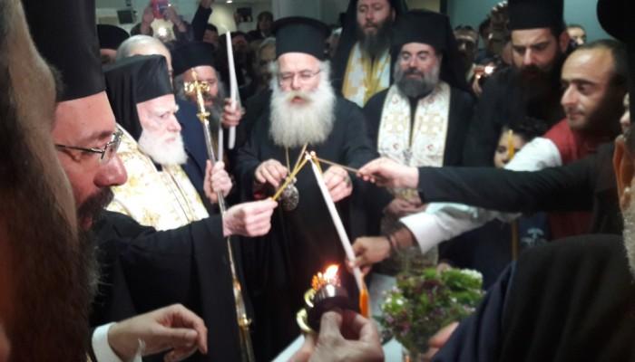 Έφτασε στην Κρήτη το Άγιο Φως! (φωτο)