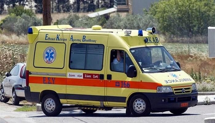 Ανήλικος τραυματίστηκε σε σύγκρουση δικύκλου με αυτοκίνητο