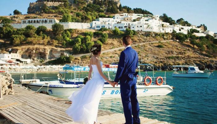 Ακυρώθηκαν 300 περίπου πολιτικοί γάμοι αλλοδαπών στη Ρόδο