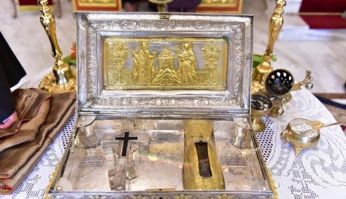 Η ηγιασμένη χείρα της Αγίας Μαρίας της Μαγδαληνής στα Χανιά