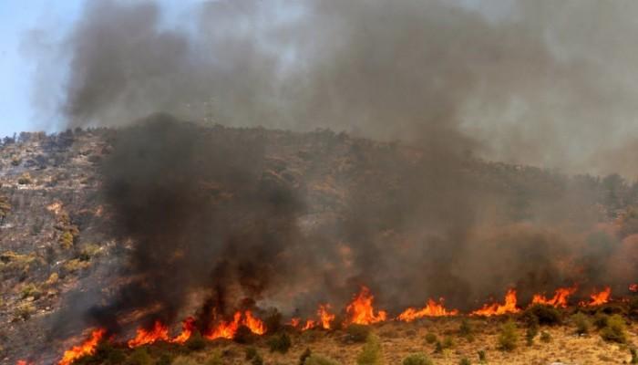 Δύο πυρκαγιές στο Ρέθυμνο