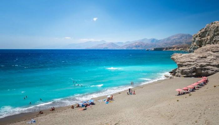Η συναρπαστική παραλία της Κρήτης