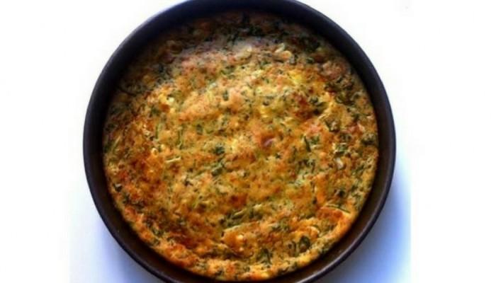 Μια πανεύκολη συνταγή για χορτόπιτα χωρίς φύλλο