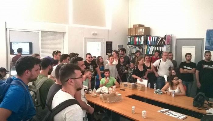 Εκπαιδευτική επίσκεψη φοιτητών στο φράγμα Βαλσαμιώτη