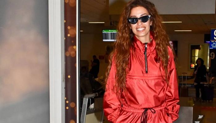 Η Ελένη Φουρέιρα μετά την επιτυχία στη Eurovision επέστρεψε στην Αθήνα