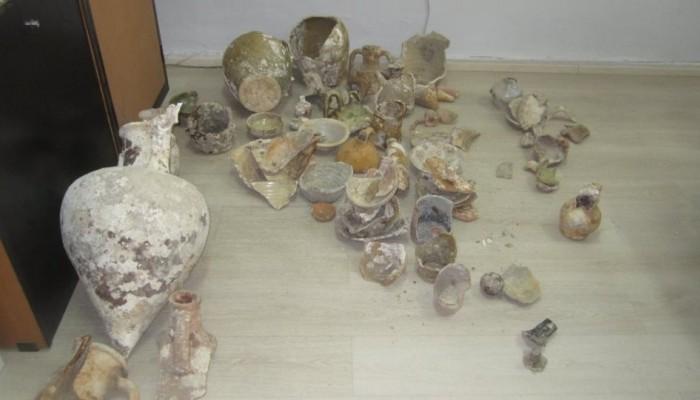 Ηράκλειο: Συνέλαβαν γυναίκα με αρχαία αντικείμενα