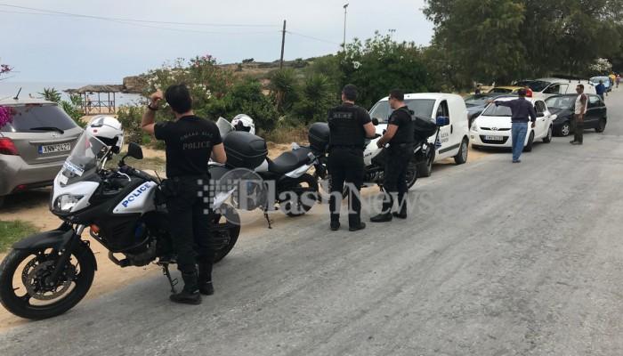 Χανιά: Παρουσία αστυνομίας έκοψαν το νερό σε καντίνες (φωτο)