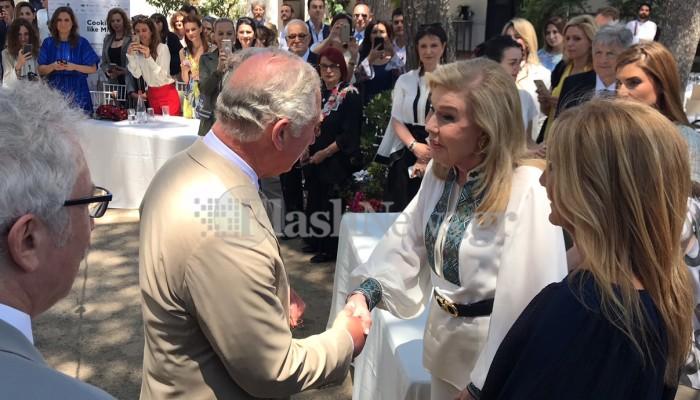 Το δώρο της κας Μαριάννας Βαρδινογιάννη στον Πρίγκιπα Κάρολο (φωτος)