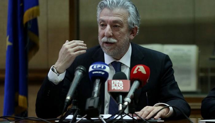 Η δήλωση Κοντονή για την παραίτηση του προέδρου του ΣτΕ