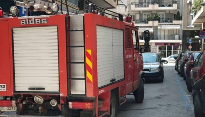 Ηράκλειο: Πήρε φωτιά αυτοκίνητο εν κινήσει!