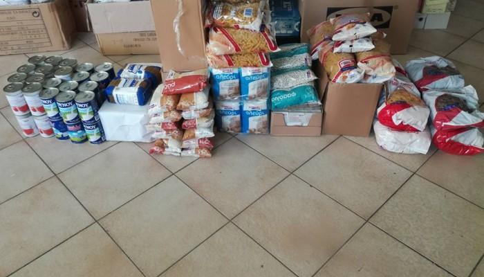 11η διανομή προϊόντων ΤΕΒΑ στο Δήμο Χερσονήσου