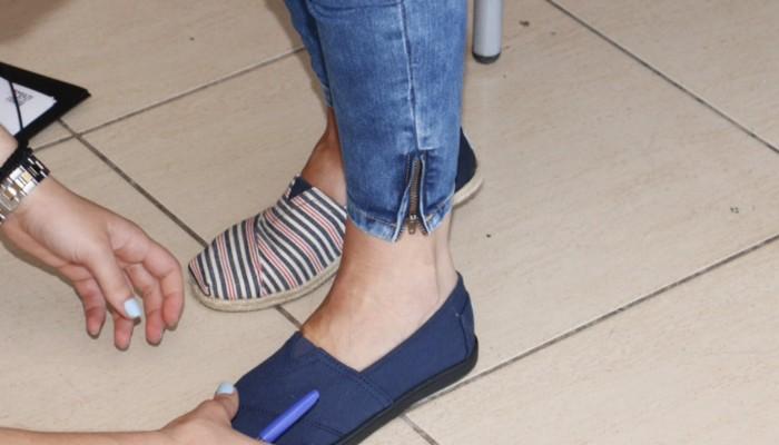 Δράση δωρεάν διανομής  παπουτσιών για παιδιά