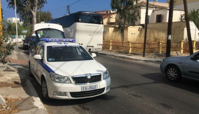 Λάδια στο οδόστρωμα προκάλεσαν μποτιλιάρισμα στη Λεωφόρο Σούδας (φωτο)