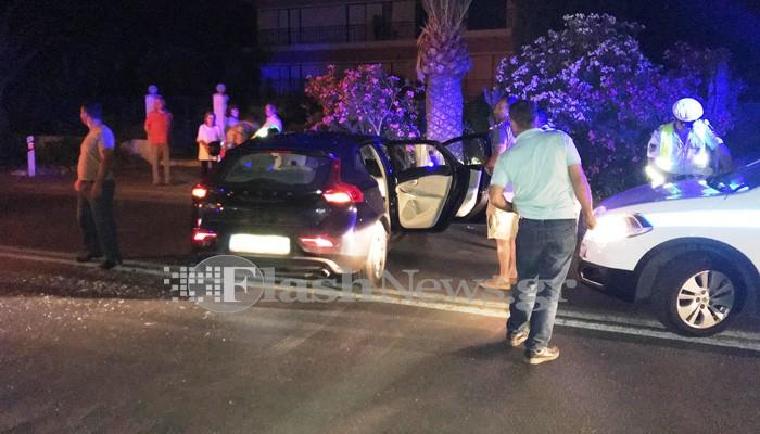 Τροχαίο ατύχημα με τραυματισμό 20χρονου στα Χανιά (φωτο)
