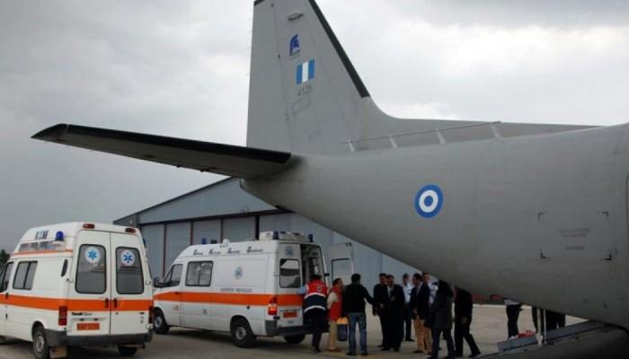 Αεροδιακομιδή πολυτραυματία από την Ρόδο στο Ηράκλειο!