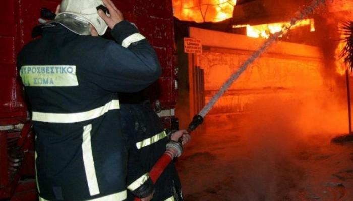 Συναγερμός για φωτιά σε νταμάρι στην Αγία Μαρίνα