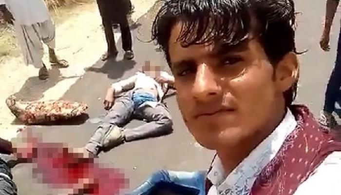 Πίσω τους πέθαιναν τρεις μετά από τροχαίο και αυτοί έβγαζαν selfie