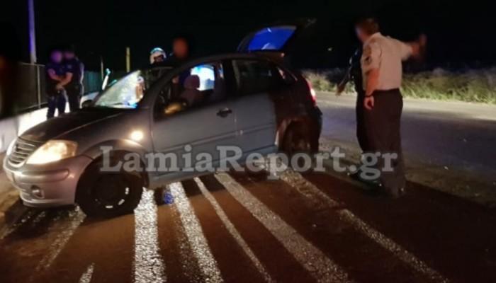 Μεθυσμένος οδηγός «καρφώθηκε» σε μαντρότοιχο επιχείρησης