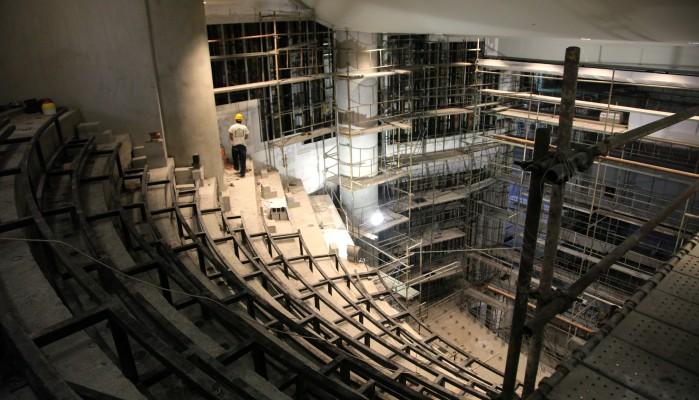 Επίσκεψη στο εργοτάξιο της Β' Φάσης του Πολιτιστικού Κέντρου Ηρακλείου