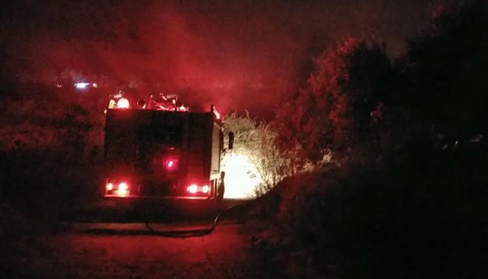 Πυρκαγιές σε Αγυιά και Μάλεμε στα Χανιά