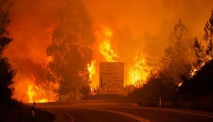 Σε ύφεση οι πυρκαγιές στη Πορτογαλία