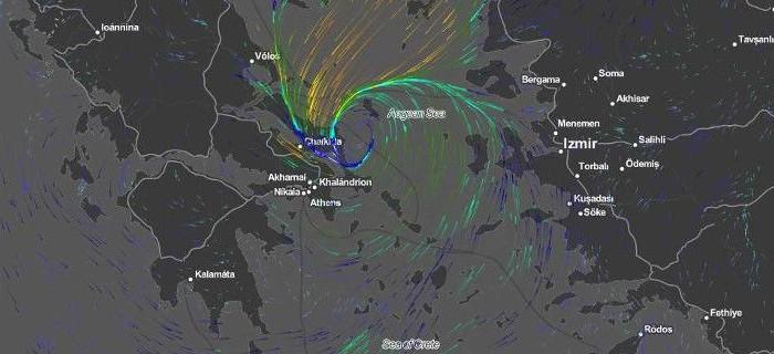 Αστεροσκοπείο: Σε ποιες περιοχές έπεσε το περισσότερο νερό