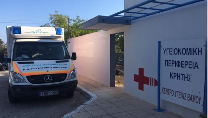 Στο Κέντρο Υγείας Βάμου η Κινητή Ιατρική Μονάδα του Αννουσάκειου