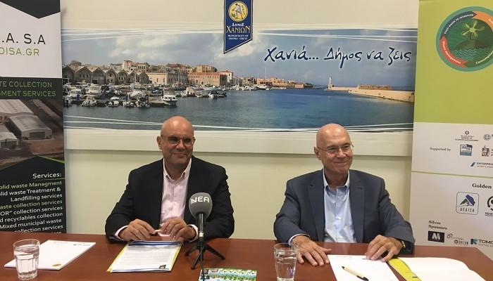 Τα Χανιά στο επίκεντρο της κυκλικής οικονομίας στη Μεσόγειο