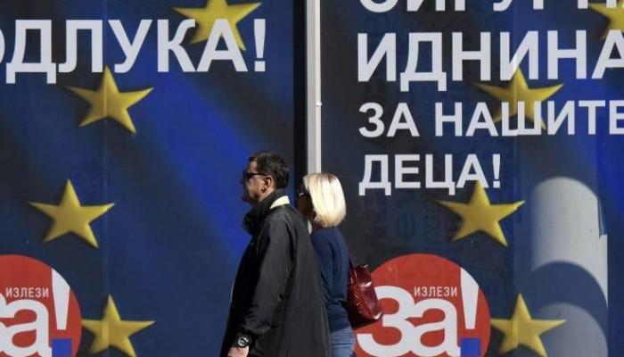 Ερμηνείες μετά την επικράτηση του ισχνού «ναι» στο δημοψήφισμα στα Σκόπια