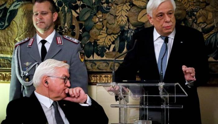 Παυλόπουλος: Νομικώς ενεργές και δικαστικώς επιδιώξιμες οι αποζημιώσεις