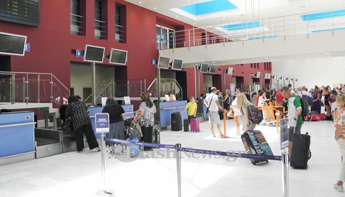 Διψήφια αύξηση στις πτήσεις εξωτερικού και εσωτερικού για το Αεροδρόμιο Χανίων
