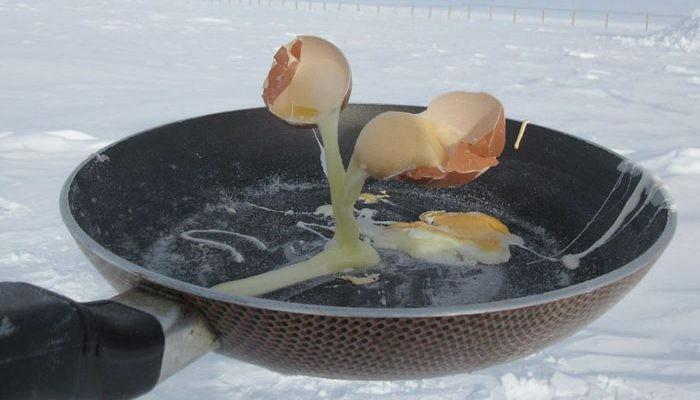 Τι μπορεί να συμβεί αν πας να μαγειρεύεις στους -70° C